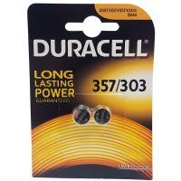 Duracell 357 SR44 1.5V Silver Oxide Watch Batteries